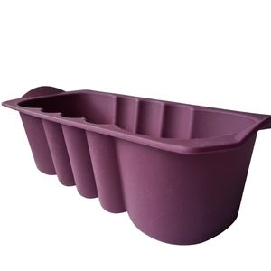 Tupperware Purple Silicon Loaf Form Baking